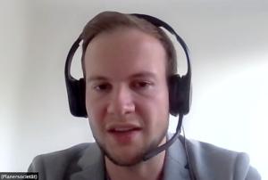 Mobilitätsplaner Pascal Wolff von der Dortmunder Planersocietät