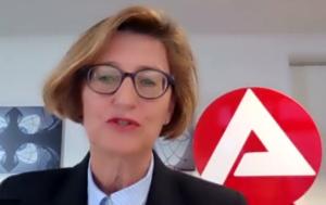 Heike Bettermann, Chefin der Agentur für Arbeit in Dortmund, (Screenshot)