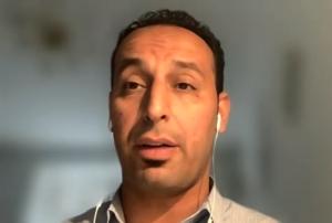 Hicham Fariad, Integrationsbeauftragter im Jobcenter. (Screenshot)