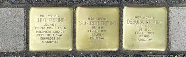 Es darf kein Vergessen geben: 20 neue Stolpersteine zur Erinnerung an Jüdinnen und Juden aus Dortmund verlegt