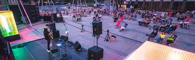 """Live und online: """"Sommer am U"""" bringt wieder Leben in die Stadt und bietet musikalische Open-Air-Erlebnisse"""