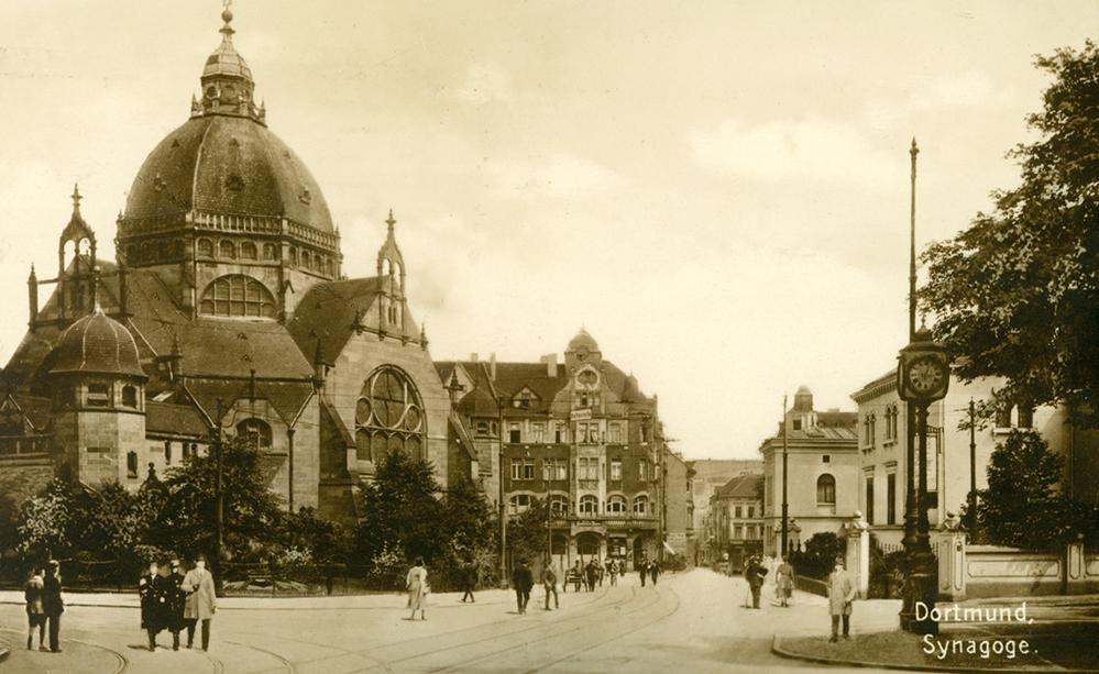 Die Alte Synagoge in Dortmund ließen die Nazis abreißen. Foto: Stadtarchiv
