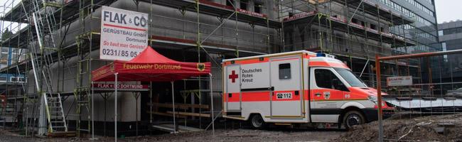Richtfest für Rettungswache 11: Bau kostet 2,4 Millionen Euro