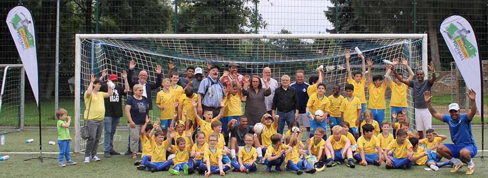 Am Montag startete das brasilianische Fußball-Camp in Marten.
