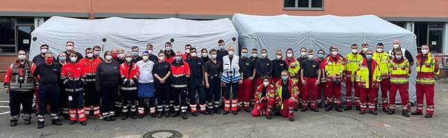 Dortmunder Hilfsorganisationen leisten überörtliche Hilfe bei Einsätzen nach der verheerenden Starkregenkatastrophe