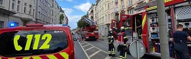 Aus einem Einsatz in der Nordstadt werden für die Feuerwehr Dortmund überraschend zwei – eine Person leicht verletzt