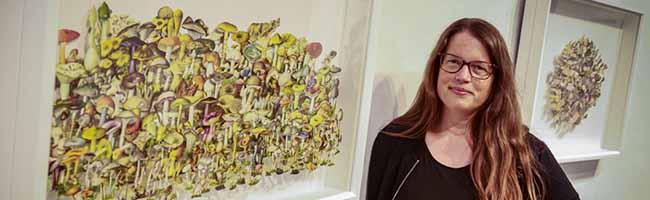 """""""Pflanze, Tier, Schlumpf"""": Stephanie Brysch stellt in der Städtischen Galerie Torhaus Rombergpark aus"""