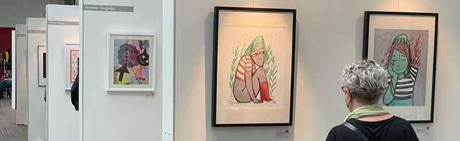 """""""Grafik aus Dortmund"""" präsentiert sich im Kulturort Depot – Ausstellung der Bewerbungen für kommenden Kunstkalender"""