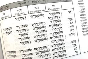 Die hebräische Schrift bereitete dem jungen Soldaten große Probleme.