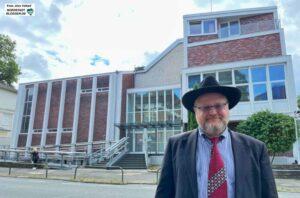 Rabbiner Shlomo Zelig Avrasin. Foto: Alex Völkel