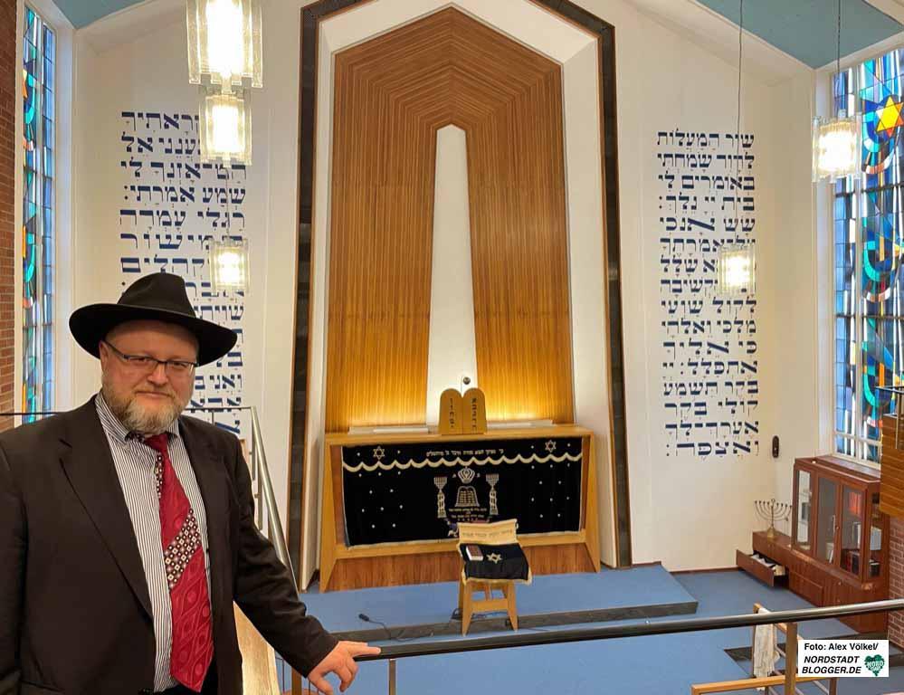 Shlomo Zelig Avrasin ist neuer Rabbiner in Dortmund. Foto: Alex Völkel