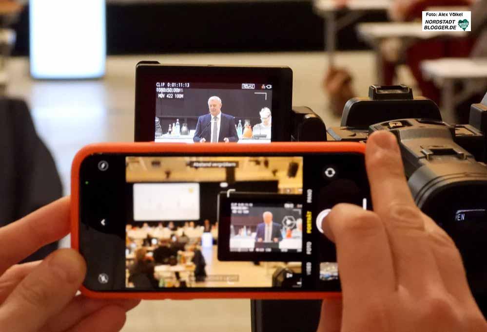 Erstmals gab es die Ratssitzung im Livestream - der Haushalt war Tagesordnungspunkt von besonderer Bedeutung,