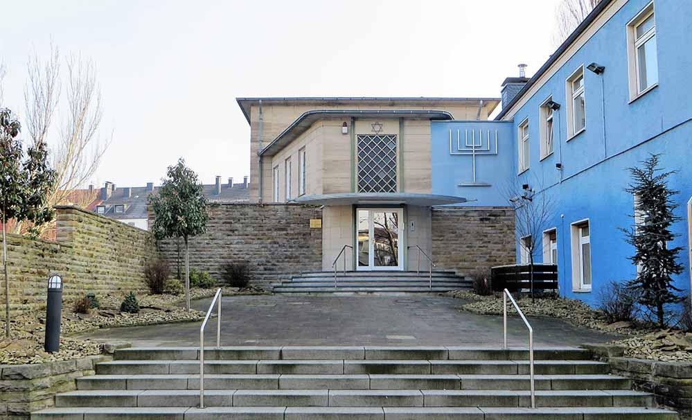 Die Synagoge in Hagen war offenbar das Ziel eines Anschlags. Foto: Klaus Bärwinkel/ Wikipedia
