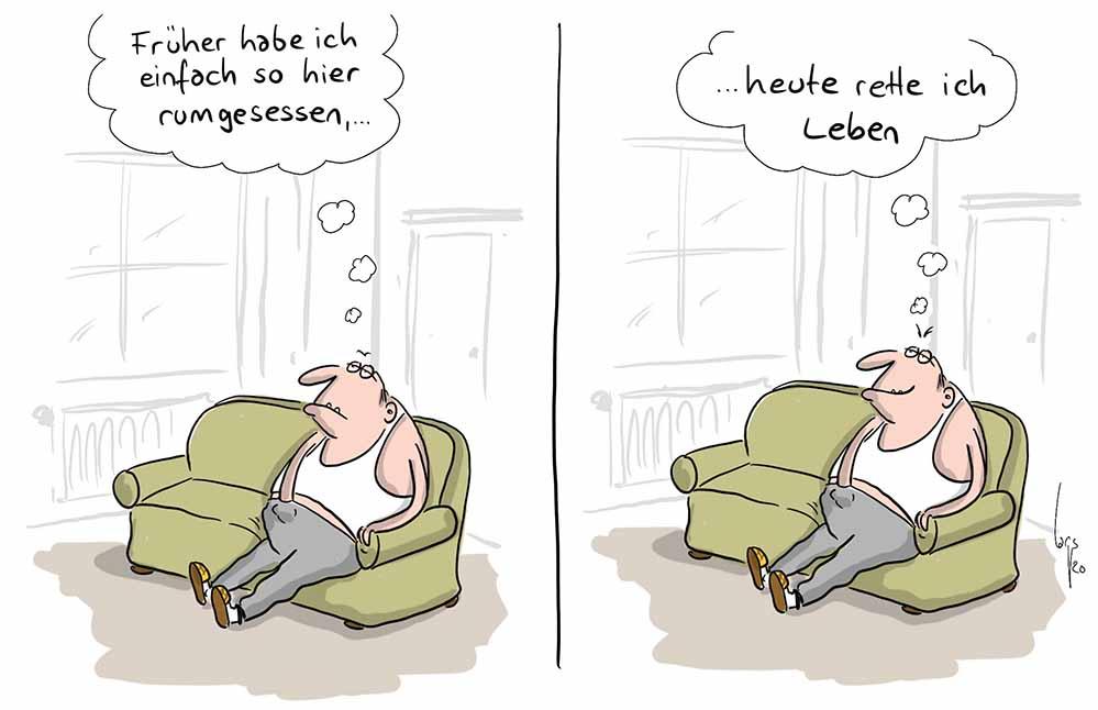 1 Preis Karikatur (Der Karikaturenpreis der deutschen Zeitungen) Mario Lars
