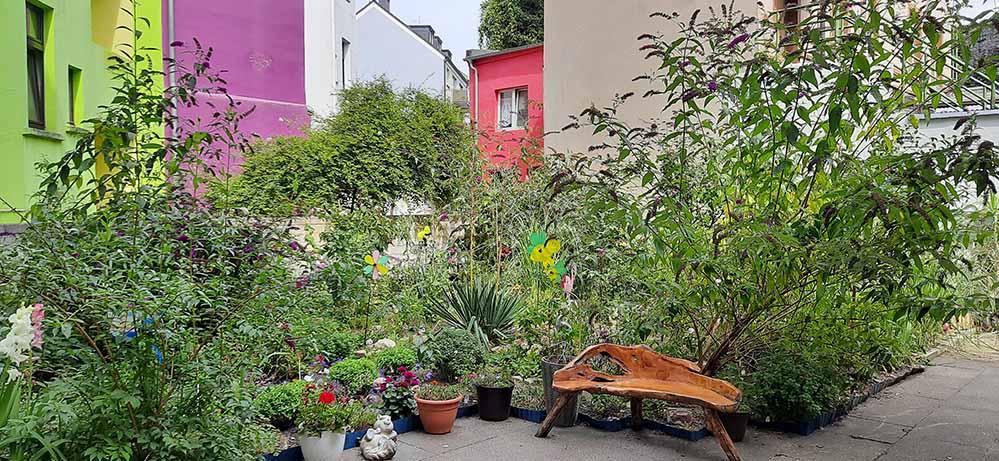 Ideen für Balkon, Vorgarten, Innenhof und den öffentlichen Raum sind willkommen.